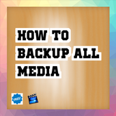 how to backup all media Tip icon
