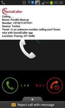SocialCaller poster