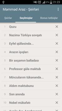 Məmməd Araz - Şeirləri apk screenshot