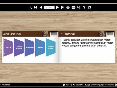 Pembelajaran Berbantuan Komp apk screenshot