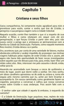 A Peregrina - JOHN BUNYAN apk screenshot