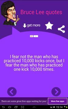 Bruce Lee Quotes apk screenshot