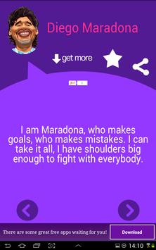 Diego Maradona Quotes apk screenshot