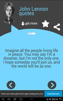 John Lennon Quotes apk screenshot
