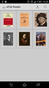ePub Reader apk screenshot