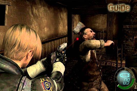 Guide Resident Evil 4 poster