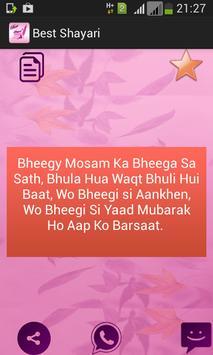 Best Shayari apk screenshot