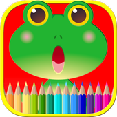 Coloring Book for Kids Animal icon