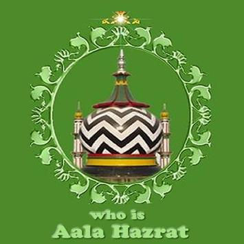 Who is AlaHazrat poster