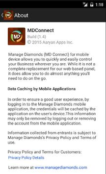 MDConnect - Manage Diamonds poster