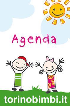 Torino Bimbi agenda x bambini poster