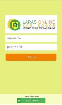 LARAS Online Pemkab Bogor poster