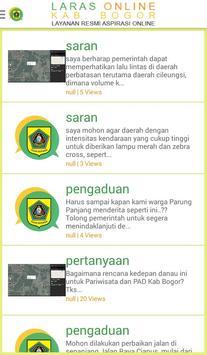 LARAS Online Pemkab Bogor apk screenshot