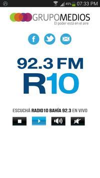 RADIO 10 Bahía Blanca poster