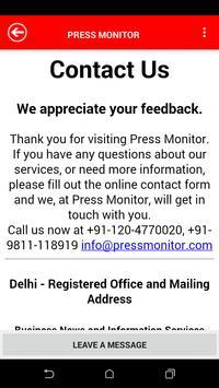 Press Monitor apk screenshot