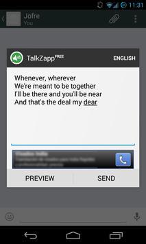 TalkZapp Free poster