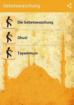Wuḍū Gebetswaschung poster