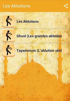 Les Ablutions en Islam poster