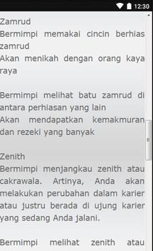 Kumpulan Tafsir Mimpi A - Z apk screenshot