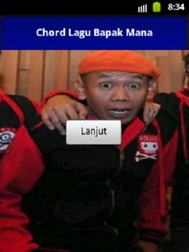 Chord Bapak Mana Sony Wakwaw poster