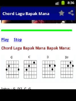 Chord Bapak Mana Sony Wakwaw apk screenshot