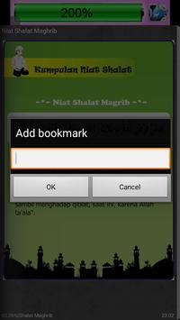 Kumpulan Niat Shalat apk screenshot