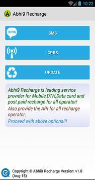 Abhi9 Recharge apk screenshot