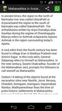 History of Maharashtra poster