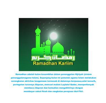 Sajian Khas Bulan Ramadhan poster