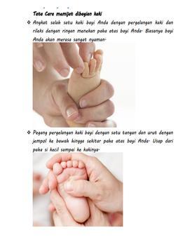 Tips Pijat Bayi Sehat apk screenshot