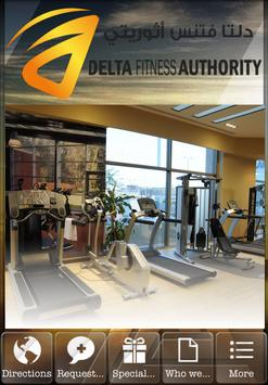 Delta Fitness Authority poster