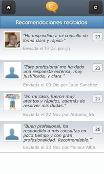 Red social de abogados apk screenshot