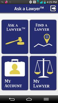 Ask a Lawyer: Legal Help poster