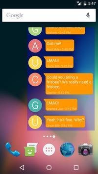 Messaging Widget (Popular app) apk screenshot