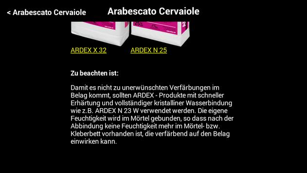 ARDEX AStone apk screenshot