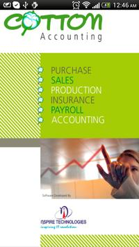 Cotton Accounting poster