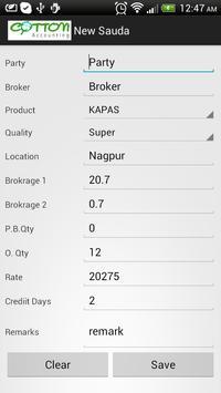 Cotton Accounting apk screenshot