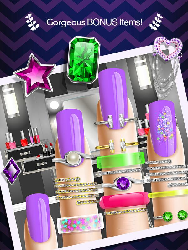 Nail salon manicure girl game apk baixar gr tis casual for A nail salon game