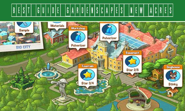 TIPS Gardenscapes: New Acres apk screenshot