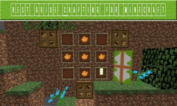 Crafting Guides Minecraft apk screenshot