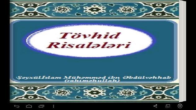 Tövhid Risalələri poster