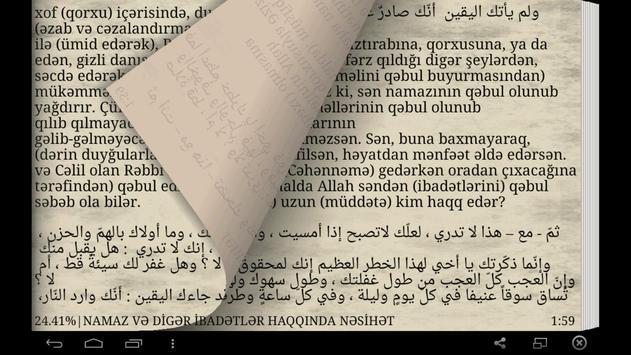 İbadətlər haqqında nəsihət apk screenshot