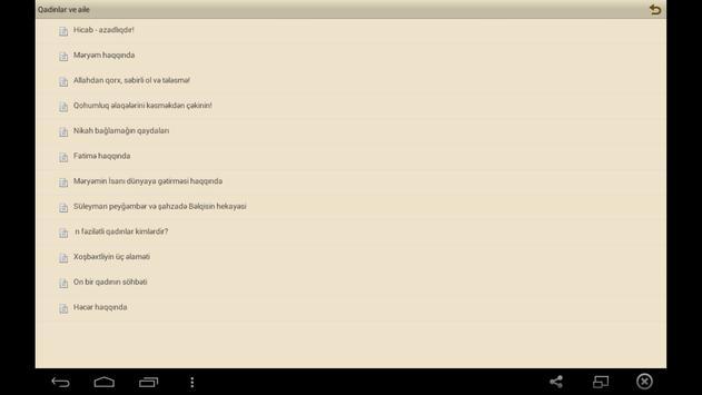 Qadınlar və ailə apk screenshot
