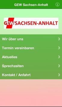 GEW Sachsen-Anhalt poster