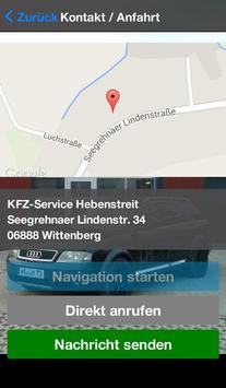 KFZ-Service Hebenstreit apk screenshot