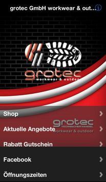 grotec GmbH workwear poster