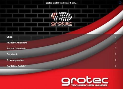 grotec GmbH workwear apk screenshot