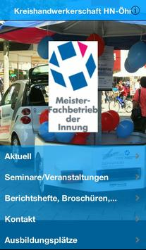 Kreishandwerkerschaft HN-ÖHR poster