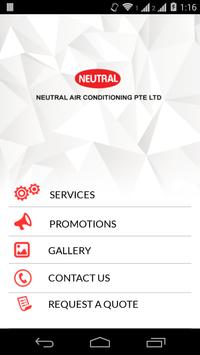 Neutral Aircon poster
