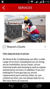 Neutral Aircon apk screenshot